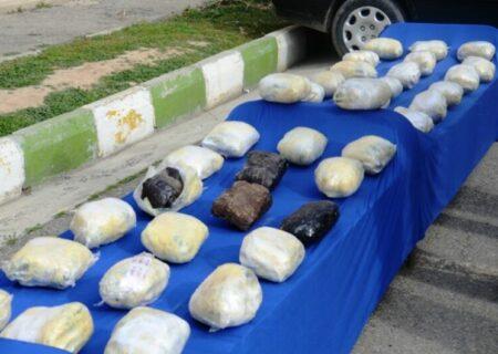 کشف بیش از یک تن مواد مخدر در خوزستان