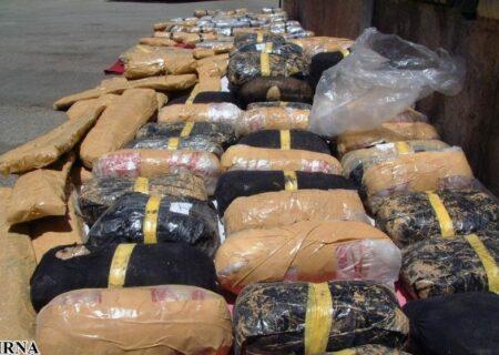 ۹۰۹ کیلوگرم موادمخدر در یزد کشف شد