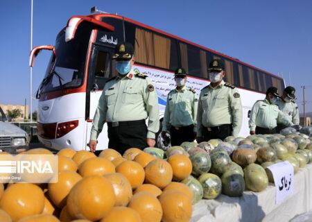 ۳۱۱ تن موادمخدر از ابتدای امسال در سیستان و بلوچستان کشف شده است