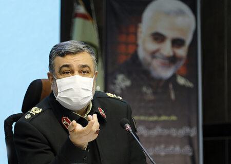 تاکید فرمانده ناجا بر مقابله با قاچاق سلاح و مواد مخدر