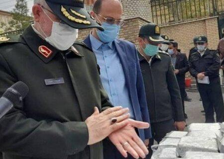 ۵۷۶ کیلو هروئین در ورامین کشف و ضبط شد/کشف بیش از ۱۰ تن مواد مخدر در سال ۹۹