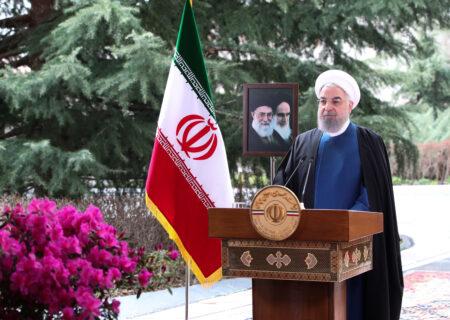 دکتر روحانی در پیام نوروزی به مناسبت حلول سال ۱۴۰۰: