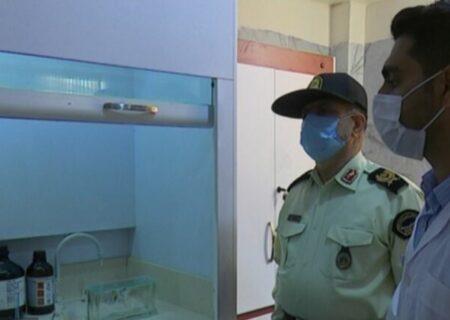 نخستین آزمایشگاه تشخیص مواد مخدر در بوشهر راهاندازی شد