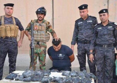 کشف محموله بزرگ مواد مخدر در غرب عراق