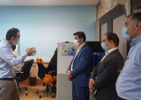 بازدید از پارک علم و فناوری، مرکز رشد، نوآوری و کارآفرینی دانشگاه شهید بهشتی