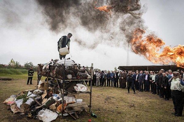 ۱۴۰۰ کیلوگرم مواد مخدر در مازندران امحا می شود