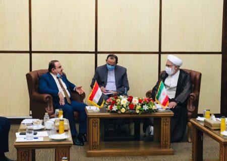تاکید دادستان کل کشور بر ارتباط بیشتر ایران و عراق در زمینه برخورد با قاچاقچیان مواد مخدر/ تفاهم نامه همکاری برای انتقال اموال محکومان منعقد شود